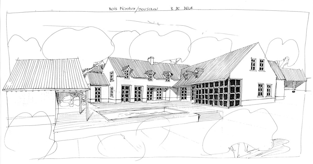 Villa bois fichaux
