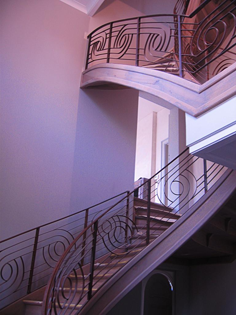 Chateau escalier