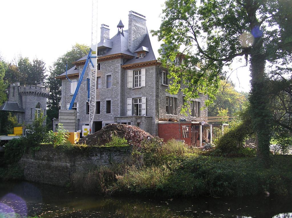 Restauration chateau