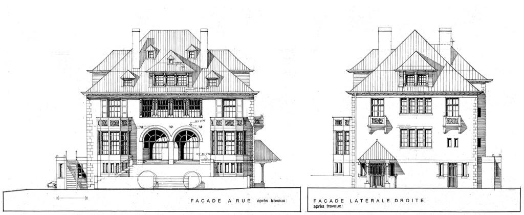 chateau-elevations