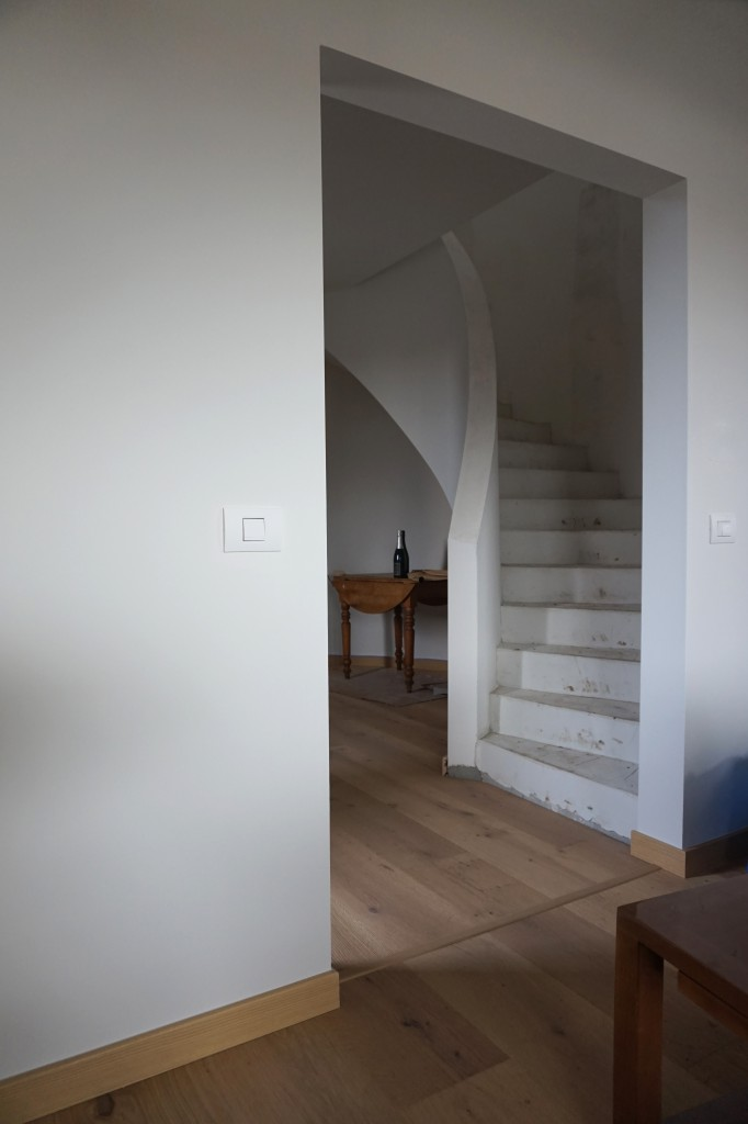 Escalier courbe