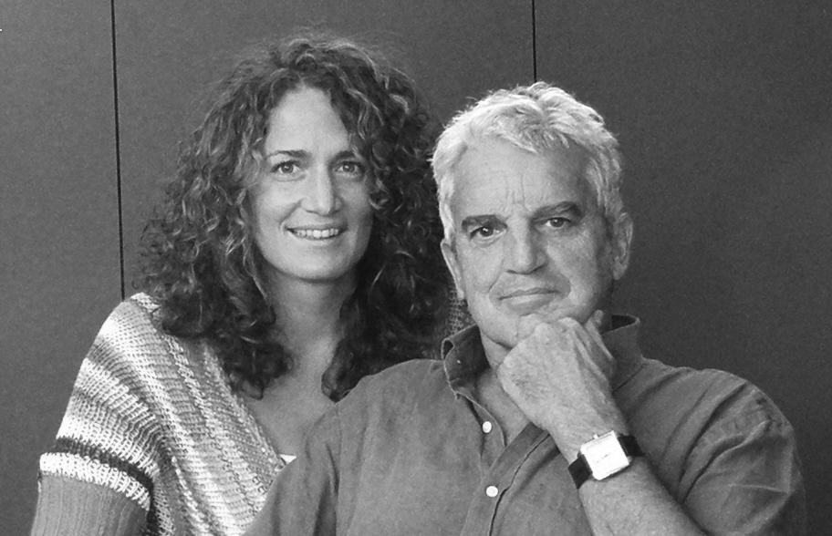 Les architectes Hélène De Deurwaerder et Bernard De Deurwaerder